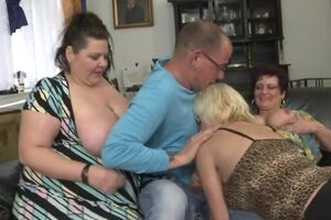 Chesty mature Step MOMs onslaught successful endowed